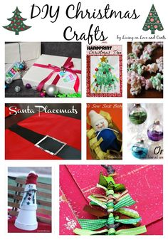 Christmas Crafts – DIY Christmas Crafts: Christmas Craft Ideas For The Whole Family – Gestaltungsideen Handprint Christmas Tree, Christmas Holidays, Christmas Decorations, Christmas Ornaments, Christmas Projects, Christmas Stuff, Christmas Ideas, Homemade Decorations, Homemade Christmas