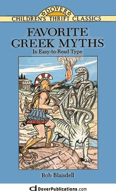 """Read """"Favorite Greek Myths"""" by Bob Blaisdell available from Rakuten Kobo. The Greek myths have intrigued countless generations of readers with their exciting tales of adventure, calamity, and co. Reading Genres, Reading Levels, Daedalus And Icarus, Rainbow Resource, Legends And Myths, Hades And Persephone, Dover Publications, Children's Literature, Used Books"""