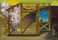Dorothea Tanning. On Time Off Time. 1948. MoMA