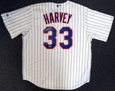 This is a White Majestic New York Mets Jersey that has been hand signed by Matt Harvey. This one is size XL. This item has the official Major League Baseball serial numbered hologram for authenticity.