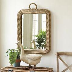 Jute Rope Mirror  | Ballard Designs