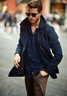 ピーコートの着こなし・コーディネート一覧【メンズ】 | Italy Web