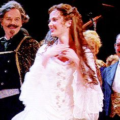 Sierra Boggess and Hadley Fraser- Christine and Raoul- The Phantom Of the Opera 25th anniversary at the Royal Albert Hall 2011