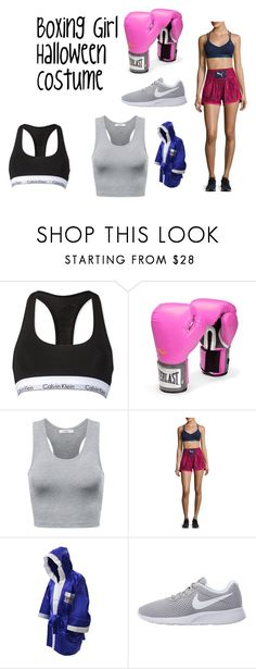 """Boxer halloween costume"" by emojisaremyfriends on Polyvore featuring Calvin Klein, Everlast, Puma and NIKE"