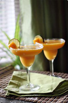 Mango Margarita from Mind Over Batter. Mom deserves a cocktail. :)