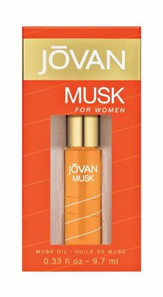 Jovan Musk by Coty for Women Body Oils