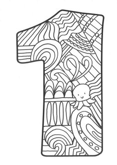Colouring Pages, Coloring Sheets, Adult Coloring, Coloring Letters, Watercolor Mandala, Wedding Rsvp, Elegant Wedding, Zentangle, Line Art