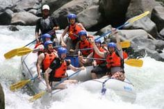 White Water Rafting in Costa Rica, one of the best trips.
