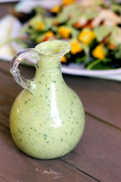 For the Avocado Dressing 1 ripe avocado 1 lime, zested and juiced 1 green onion, chopped 1 garlic clove, peeled 1/4-1/2 cup cilantro 1/4 cup non-fat plain Greek yogurt 1 small jalapeno, seeded Water