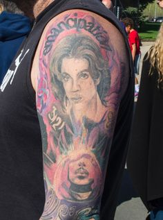 Fans show off their Prince tattoos in wake of singer's death