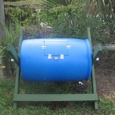 How to make a compost bin from a 55 gallon drum