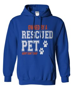 OWNED BY A RESCUED PET