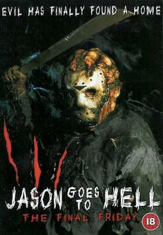 Jason Goes to Hell: The Final Friday (1993) - 3/5 Horror Movie Characters, Horror Films, Horror Art, Friday The 13th Memes, Jason Voorhees, All Movies, Event Photos, Great Stories, Cover Art