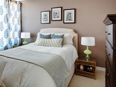 Eclectic Bedrooms from Lugbill Designs on HGTV