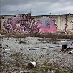 Graffiti loods