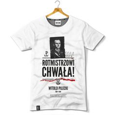 Rotmistrz Witold Pilecki; an officer of Polish Undergroung Army during German occupation of Poland (1939-1945); voluntarily in Oświęcim KL; first report about German Concentration Camp in Oświęcim on the territory of occupated Poland; after war = arrested and murdered by commies;