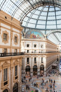 Galleria Vittorio Emanuele II in Milan is restored