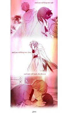 Akagami no Shirayuki-hime - Zen and Shirayuki Snow White with Red Hair I Love Anime, Me Me Me Anime, Zen Y Shirayuki, Miraculous, Manga Anime, Anime Art, Otaku, Sanji One Piece, Akagami No Shirayukihime