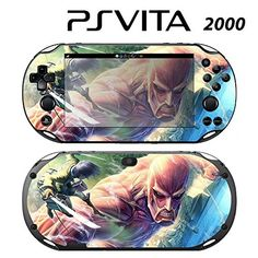 Decorative Video Game Skin Decal Cover Sticker for Sony PlayStation PS Vita Slim PCH2000  Attack on Titan ** Details can be found by clicking on the image.Note:It is affiliate link to Amazon.