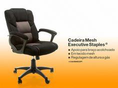 CADEIRA MESH EXECUTIVE™ STAPLES®
