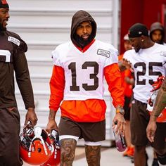 Mini Camp 🐶 Obj Football, Cleveland Browns History, Go Browns, Dog Pounds, Odell Beckham Jr, Football Conference, National Football League, Baby Daddy, Man Crush