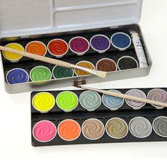 Watercolor Paint Box 24 Colors