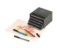 Faber-Castell - PITT Artist Pen Brush - Studio box of 60 (167150)
