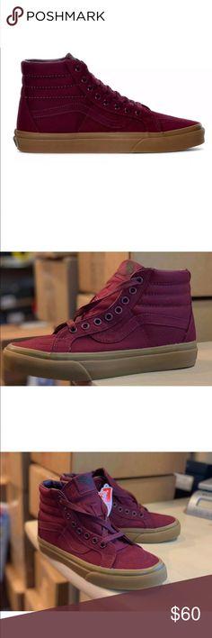 88cc70cebad8 Vans Women s Sk8 Hi Reissue Port Royal Skate Shoe NEW AUTHENTIC Vans Sk8-Hi  REISSUE
