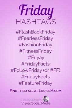 Hashtags for Days of the Week to Skyrocket Your Social