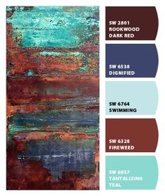 Paint colors from Chip It! by Sherwin-Williams by patsy Paint colors from Chip It! by Sherwin-Williams by patsy Paint Color Schemes, Colour Pallette, Paint Color Combinations, Paint Color Palettes, Wall Colors, House Colors, Rustic Paint Colors, Rustic Color Palettes, Rustic Painting