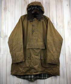Rare Vintage Barbour A60 Longshoreman Men's Wax Jacket Smock MADE IN ENGLAND XL   eBay