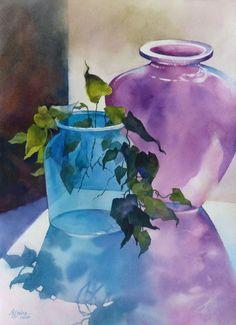 Alexis Lavine: Luminous Watercolors & Inspiring Art Instruction #watercolorarts