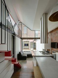 Creative architecture breathes new life into Victorian terrace   Designhunter - architecture