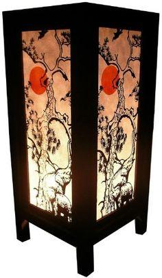 Handmade Table Lamp Asian Oriental Sun Elephant Decor Cheap Price Made From Thailand by handmade, http://www.amazon.com/dp/B00ASXOWVW/ref=cm_sw_r_pi_dp_BDPnrb0JQ8SQQ