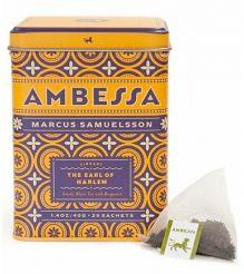 Ambessa The Earl of Harlem – Tea Sachets, Tin of 20
