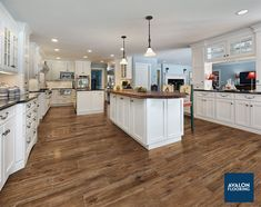 Get the look of wood without the worry with Porcelain Wood Look Tile. nAmerican Estates in Saddle | Starting at$5.69/sf | 9x36 Plank #kitchenflooring #woodtile #hardwood #tile #kitchenfloors