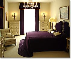 purple bedrooms: mauve, lavender and purple bedroom color ideas for (almost) any style