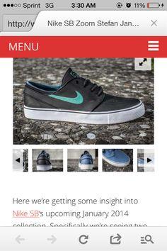 b831b12c7cea9a Leather mint janoski Nike
