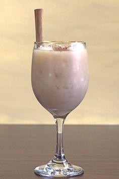 Snowball Cocktail recipe with 1921 Tequila Cream Liqueur, vanilla, Kahlua, milk and cinnamon.