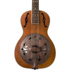 Washburn R360K Parlor Resonator Guitar with 1930's Style Inlay Vintage