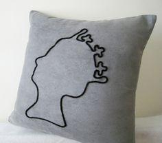 QUEEN Cushion Cover - S$39 Singapore Handmade #artdew