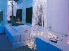 Sensory room water beds.