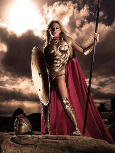warrior Spartan porn female