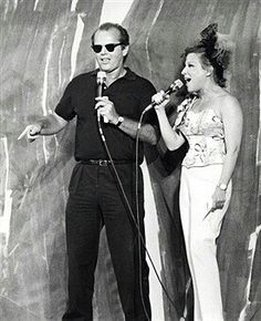 Jack Nicholson and Bette Midler