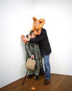 Tatsumi Orimoto Bread Man Performance Art