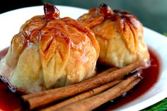 Baked Apple Dumplings♥
