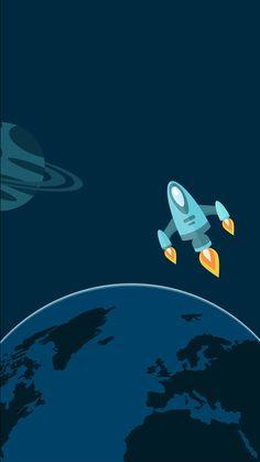 Cartoon Space Iphone 5 Wallpaper | Makes Sense :) | Pinterest | Cartoon, Wallpaper and Spaces