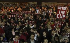 Friday 5th November 2010, the biggest night so far (on the pitch at least). Away win at Rochdale in the first round of the FA cup.
