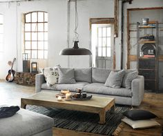 Between industrial and rustic chic