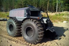 The Sherp: A Russian All-Terrain Vehicle That's Pretty Much Unstoppable